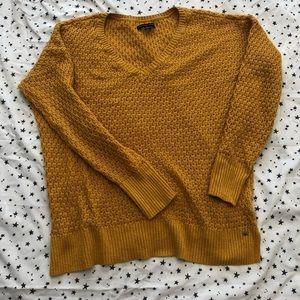 AM Mustard Knit Sweater